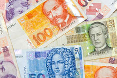 Kuna banknote Royalty Free Stock Image
