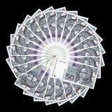 Kuna in cirkel Royalty-vrije Stock Fotografie