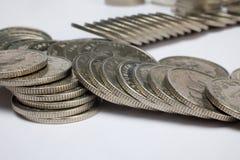 Kuna coins, Croatian money Stock Image