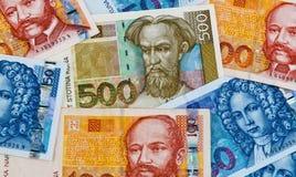 Kuna - currency of croatia royalty free stock photography