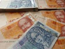 Kuna - the currency of Croatia Stock Photos