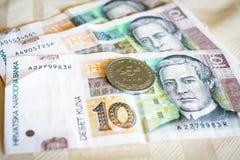 Kuna, currency of Croatia Royalty Free Stock Photos