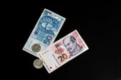 Kuna - kroatisk valuta Arkivfoto