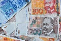 Kuna money of Croatia royalty free stock photo