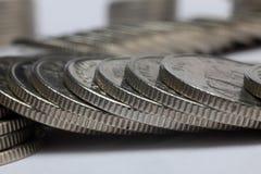 Kuna mynt, kroatiska pengar Fotografering för Bildbyråer