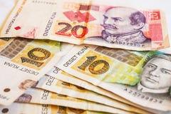 Kuna valuta av Kroatien Fotografering för Bildbyråer