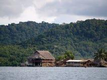 The Kuna Yala comunities in Panama Royalty Free Stock Photo