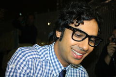 Kunal Nayyar Stock Photography