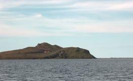 Kunashir island. Wievs ocean and hills royalty free stock photography