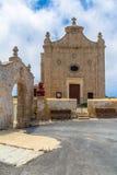 Kuncizzjoni Chapel and Arch Royalty Free Stock Image