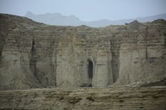 Hingol National Park - Pakistan. Kund Malir located in Balochistan nearly 300 km away from Karachi. Attractions include Princess of Hope, live mud volcano and Royalty Free Stock Photography