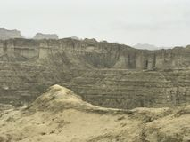 Hingol National Park - Pakistan. Kund Malir located in Balochistan nearly 300 km away from Karachi. Attractions include Princess of Hope, live mud volcano and Stock Images
