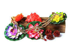 Kundan bracelet Stock Images