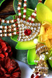 Kundan jewellery Royalty Free Stock Image