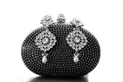 Kundan jewellery Fotografia Royalty Free