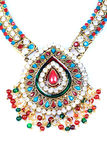 Kundan and polky jewellery Stock Photography