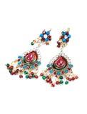 Kundan and polky jewellery Royalty Free Stock Photos