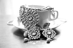 Kundan smyckenuppsättning Royaltyfri Bild