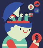 Kunden-Forschung Stockfotos