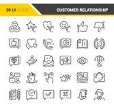 Kunden-Verhältnis-Management Stockfotos