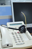 Kundenbetreuungs-Bürowerkzeuge lizenzfreies stockfoto