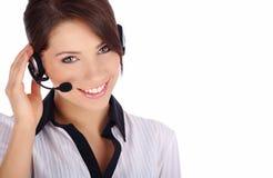 Kundenbetreuungsmädchen Lizenzfreie Stockfotos