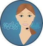 Kundendienst-Bediener Lizenzfreie Stockfotos