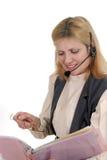 Kundendienst-Bediener 7105 Stockbilder