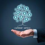 Kundendienst eine schöne lächelnde Geschäftsfrau Lizenzfreies Stockfoto