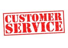 Kundendienst eine schöne lächelnde Geschäftsfrau stock abbildung
