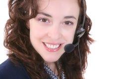 Kundendienst-Frau Lizenzfreies Stockfoto