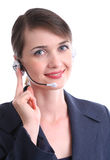 Kundendienst-Mittel stockbild