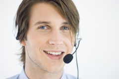 Kundendienst-Repräsentant Lizenzfreie Stockfotos