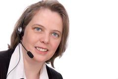 Kundendienst Repräsentant Lizenzfreies Stockfoto
