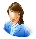Kundendienst-Repräsentant Stockfoto