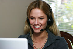 Kundendienst Representitive Lizenzfreie Stockbilder