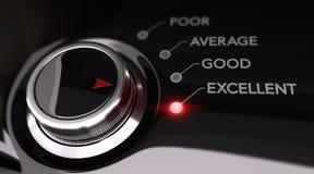 Kundendienst-Zufriedenheits-Konzept Lizenzfreie Stockfotos