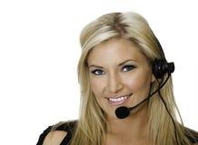 Kundendienstrepräsentant Stockfotos