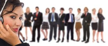 Kundendienstteam Lizenzfreies Stockfoto