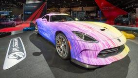 2015 kundengebundene Dodge-Viper GTC Lizenzfreie Stockfotografie