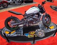 Kundengebundener Kawasaki Vulcan Stockfoto
