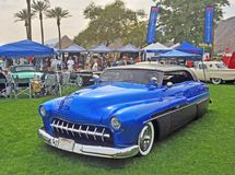 Kundengebundener Mercury Low Rider Chub lizenzfreie stockfotos