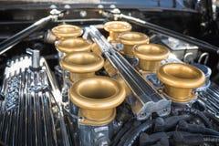 Kundengebundener Muskelautomotor angezeigt Lizenzfreie Stockfotos