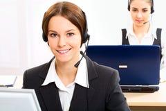 Kundenkontaktcenter Lizenzfreie Stockbilder