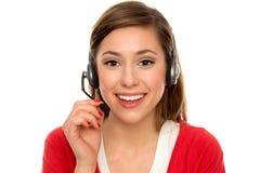 Kundenkontaktcenter Stockbild