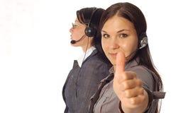 Kundenkontaktcenter Lizenzfreie Stockfotografie