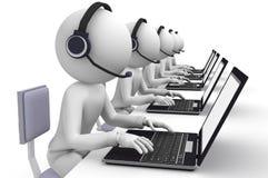 Kundenkontaktcenter Lizenzfreies Stockbild