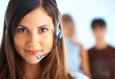 Kundenkontaktcenter-Bediener Lizenzfreies Stockfoto