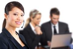 Kundenkontaktcenter-Bediener Lizenzfreie Stockfotografie