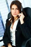 Kundenkontaktcenter-Mittel Lizenzfreies Stockfoto